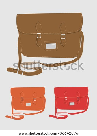Fashion / School satchel set 1