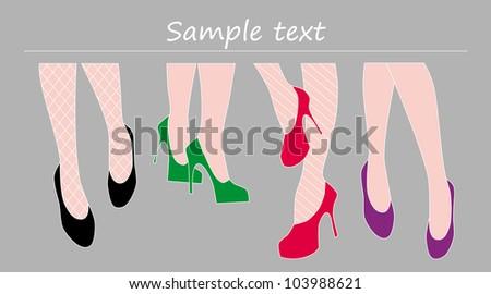 fashion show of the designer shoe