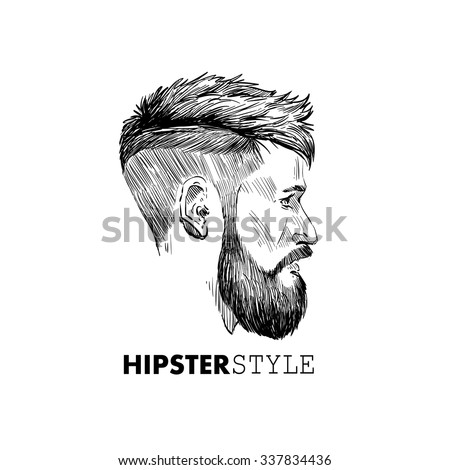 fashion silhouette hipster
