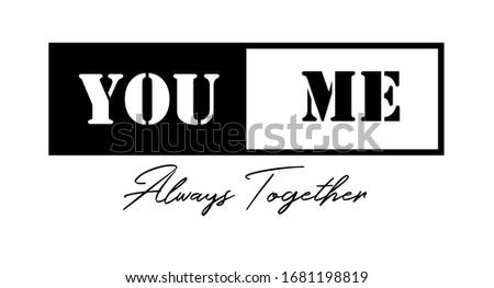 fashion slogan design featuring