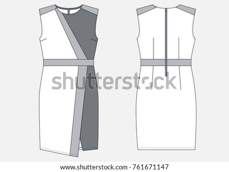 Free Women Dresses Silhouettes Vector Download Free Vector Art