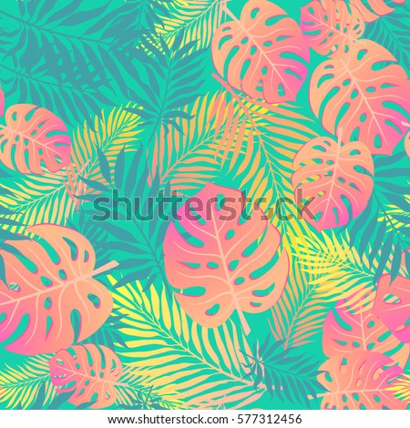fashion tropical seamless