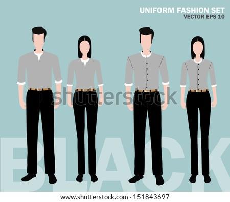 Fashion uniform set