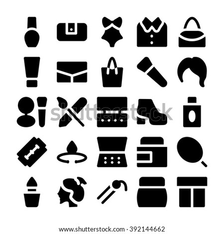 fashion vector icons 5