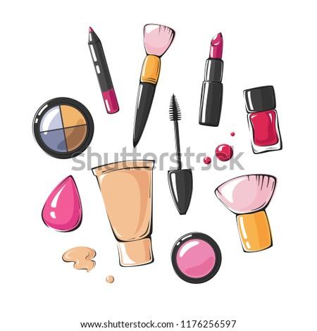 fashion vector illustration of