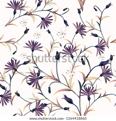 fashion vector pattern with