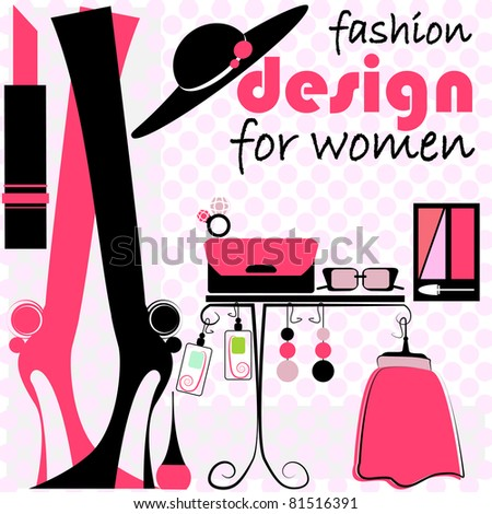 Fashion Woman illustration 1