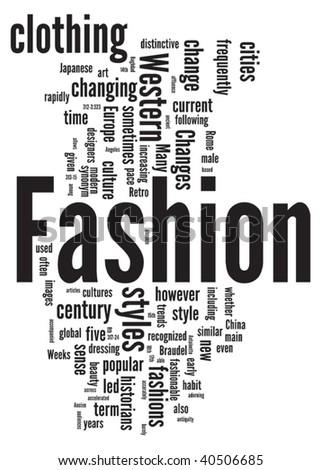 Vector Images Illustrations And Cliparts Fashion Word Cloud Illustration Graphic Tag Collection Hqvectors Com