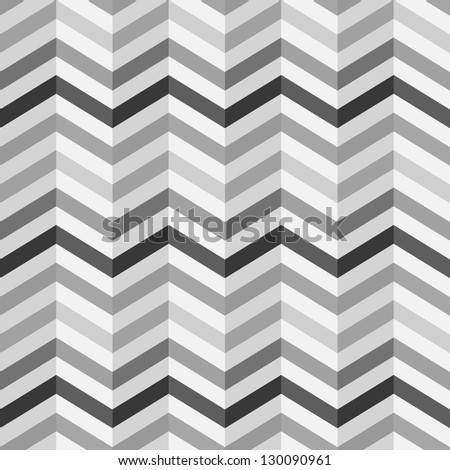 Fashion zigzag pattern in retro colors, seamless vector background