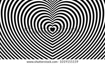 Striped Heart Vector - Download Free Vector Art, Stock Graphics & Images