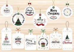 Fashionable and simple Christmas card set