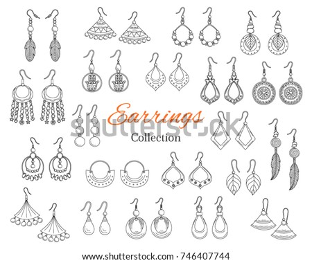 fashionable earrings collection ...