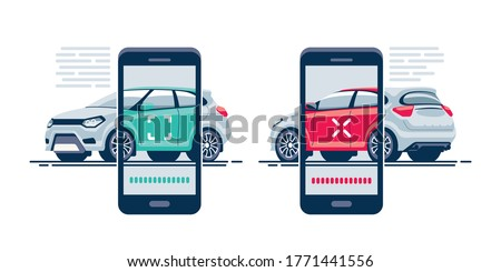 Fast and convenient car scan using the mobile application on your smartphone. Scan vehicle by mobile device.