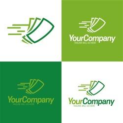 Fast Cash Logo Icon and Logo - Vector Illustration