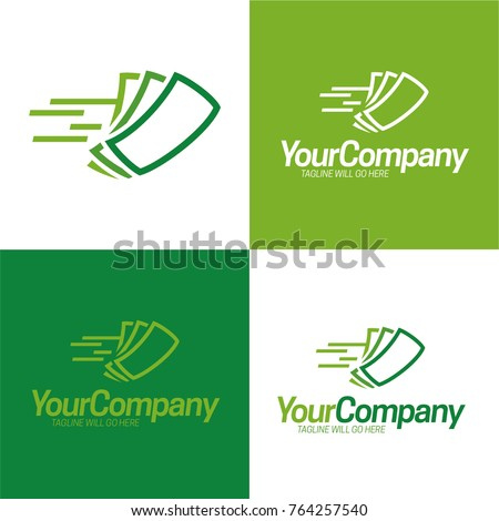 Fast Cash Logo Icon and Logo - Vector Illustration