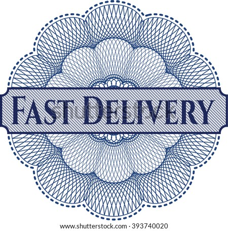 Fast Delivery money style rosette