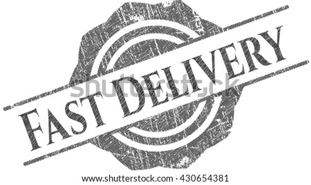 Fast Delivery pencil effect