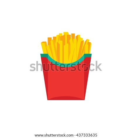 fast food  french fries  tasty