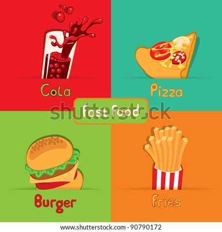 fast food from the four food