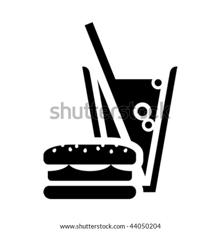 Fast Food Icon Vector Fast Food Icon
