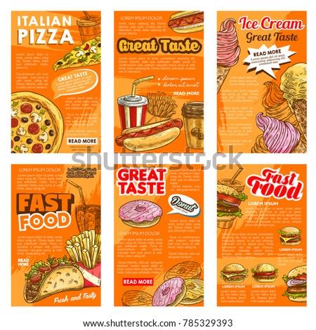 fast food restaurant lunch