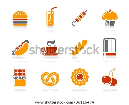 fast food  sweeties and bakery