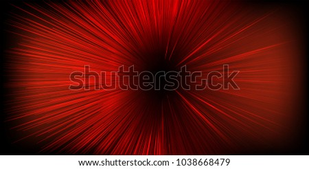 Fast moving at light speed -  Abstract vector background.