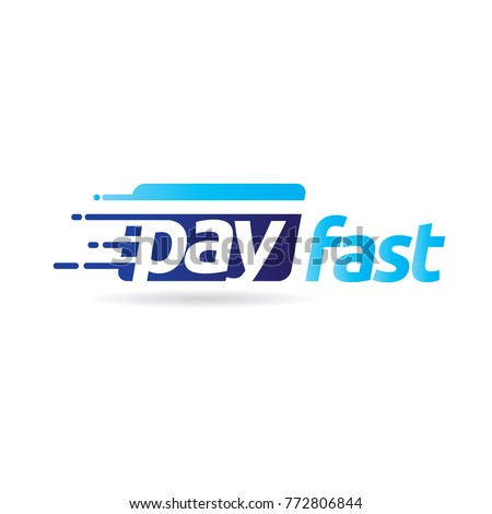 Fast Pay Digital Electronic Transaction Logo Symbol icon