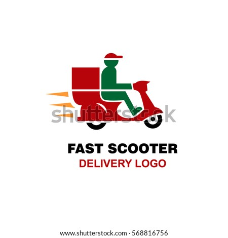 fast scooter delivery logo