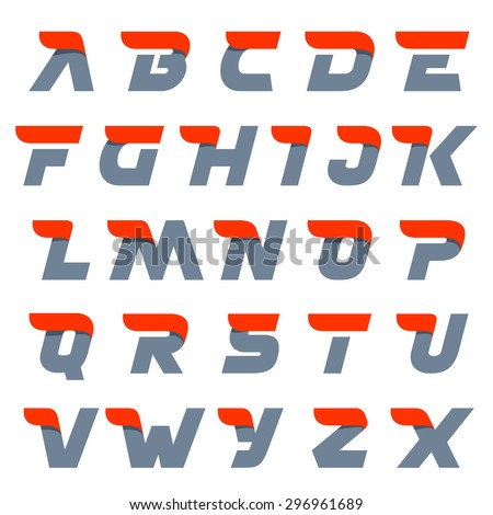 fast speed english alphabet