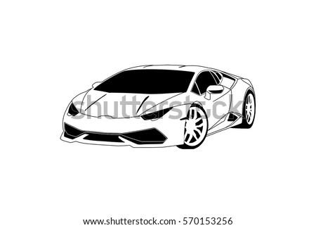 Lamborghini Vector Download Free Vector Art Stock Graphics Images