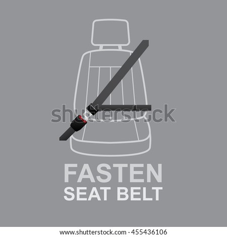 Fasten your seat belts icon.