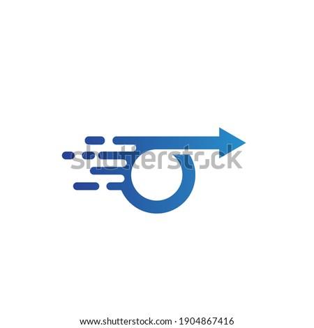 faster Arrow icon vector illustration  Template design Stock photo ©