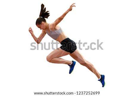 faster start running woman
