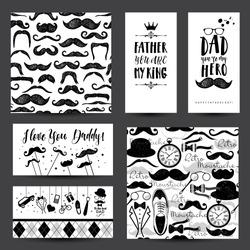 Father day invitation card