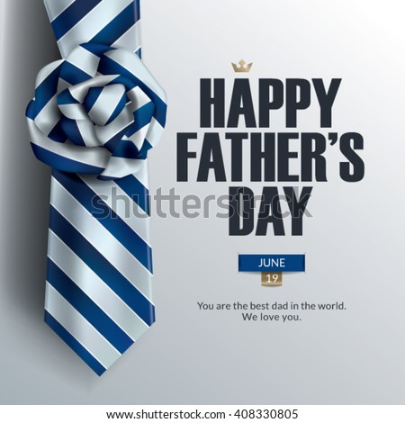 Father's Day Card Design.