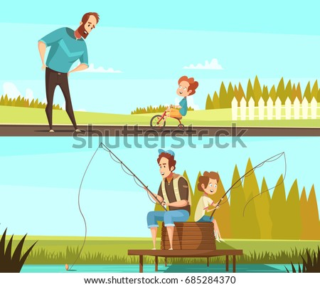 fatherhood 2 retro cartoon