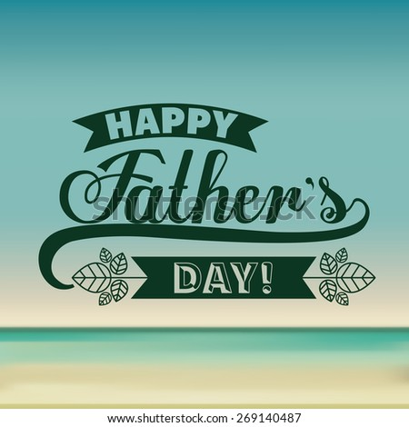 stock-vector-fathers-day-design-over-colored-background-vector-illustration