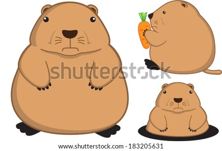 fatty prairie dog cartoon