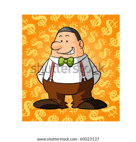 fatty rich man character