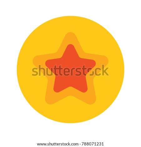 favorite icon - star sign