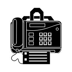 fax icon - print symbol