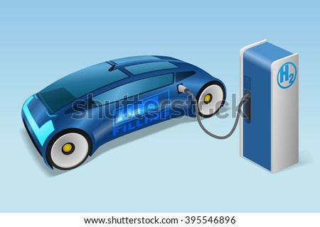fcv fuel cell vehicle  and