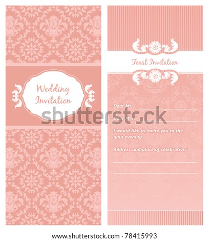 FeastInvitation Template Can Be Used For Invitations To Any Of – Ceremony Invitation Template