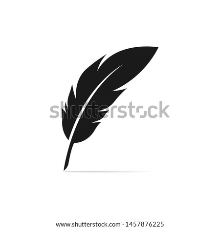 feather  illustration  isolated