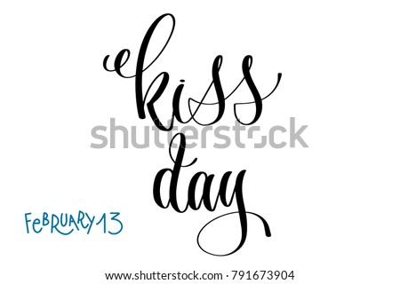 february 13   kiss day   hand