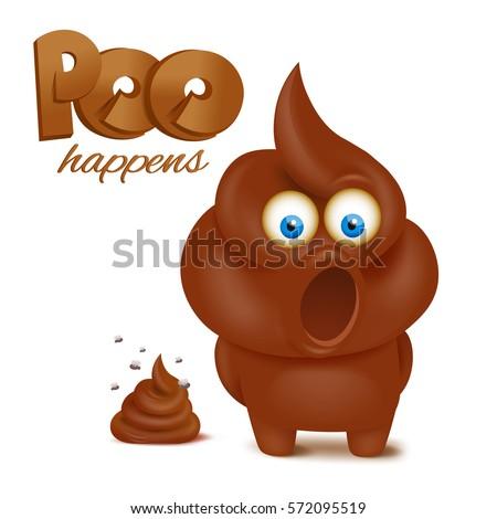 feces emoji funny character