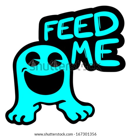 feed me smile icon