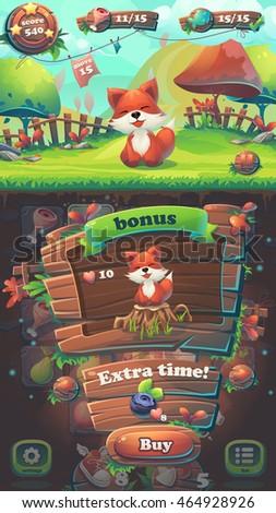 feed the fox gui match 3 bonus