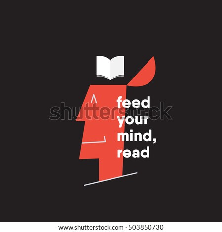 feed your mind reading concept